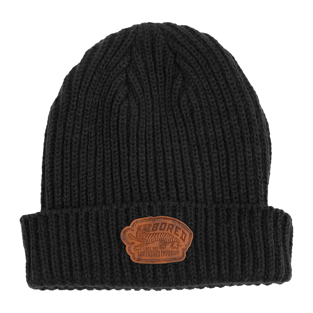 Bored of Southsea Daily Use Fisherman Beanie in Black