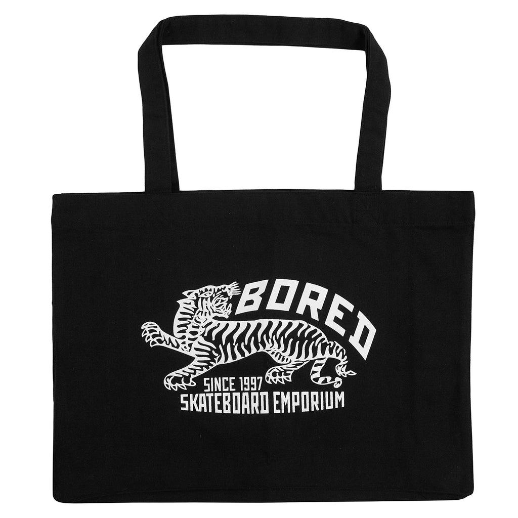 Bored of Southsea Tiger Emporium Shopper Bag in Black