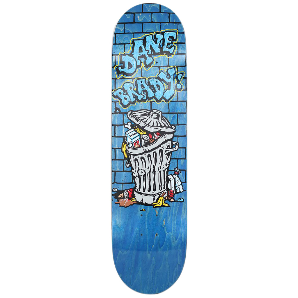 Polar Skate Co Dane Brady Trash Can Skateboard Deck in 8.125""