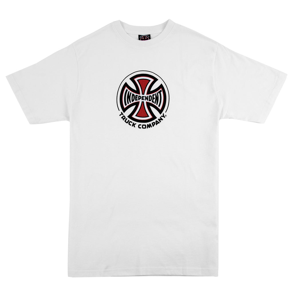 Independent Trucks Truck Co T Shirt in White
