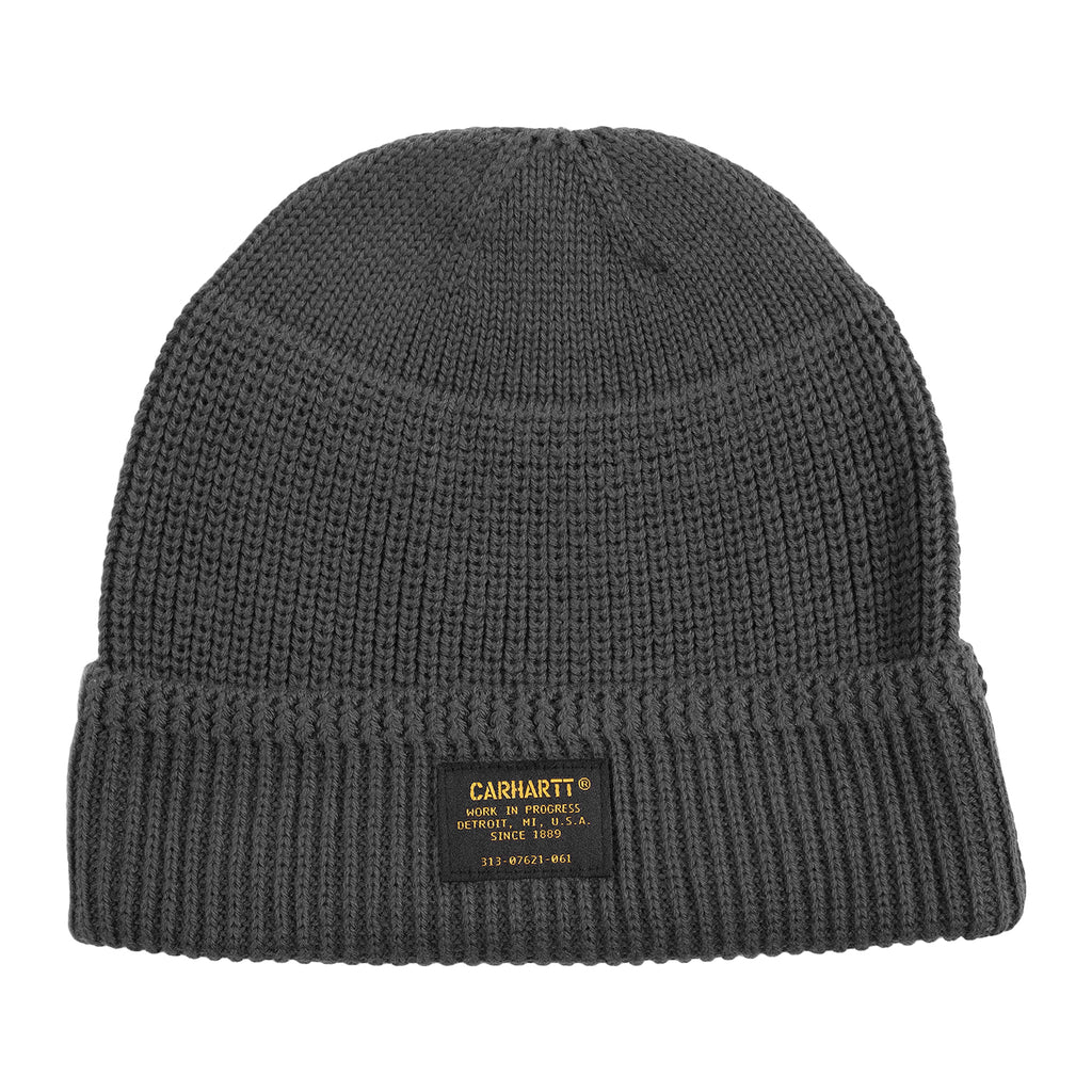 Carhartt WIP Truman Beanie in Blacksmith