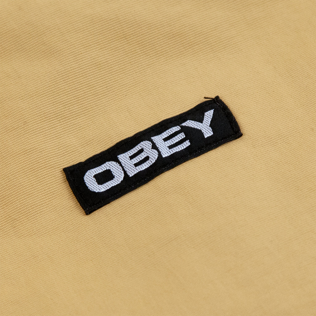 Obey Clothing The Tucker Anorak Jacket in Almond Multi - Label
