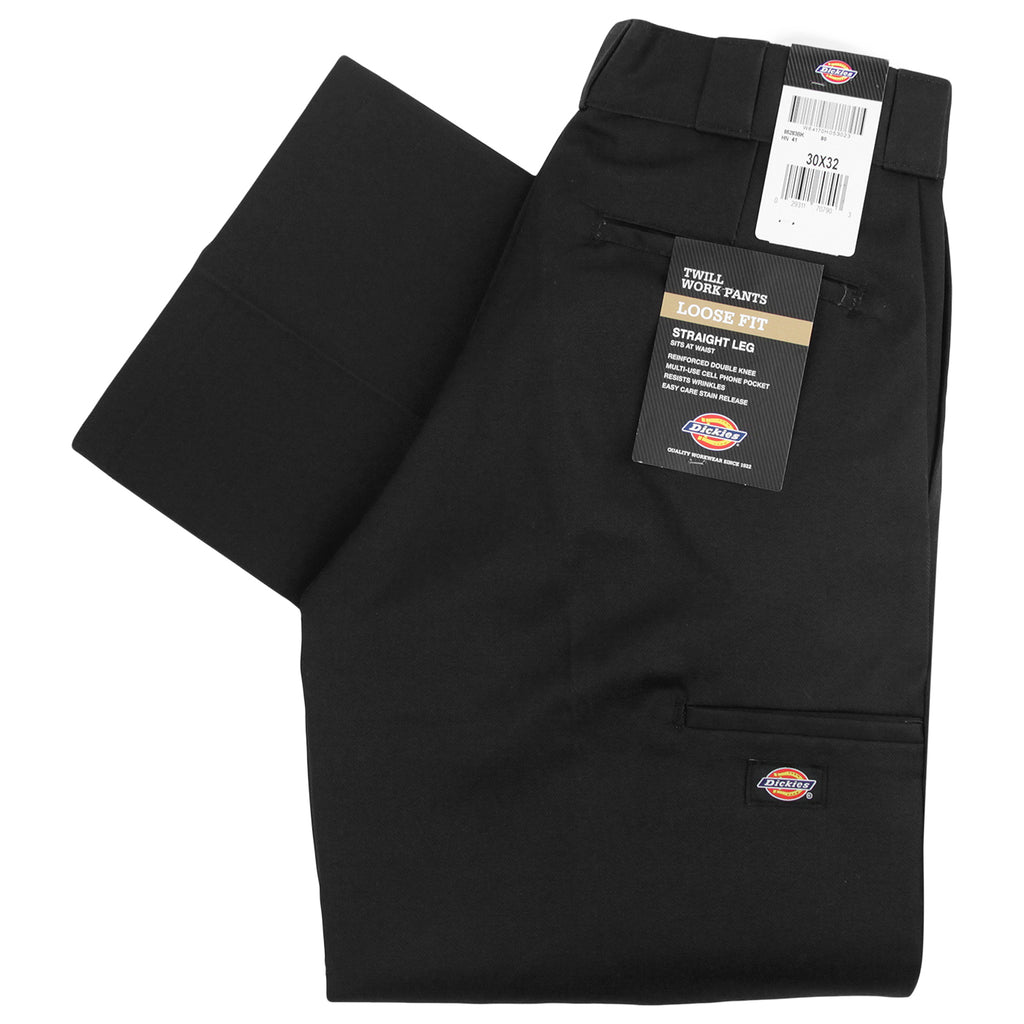 Dickies 283 Double Knee Work Pant in Black