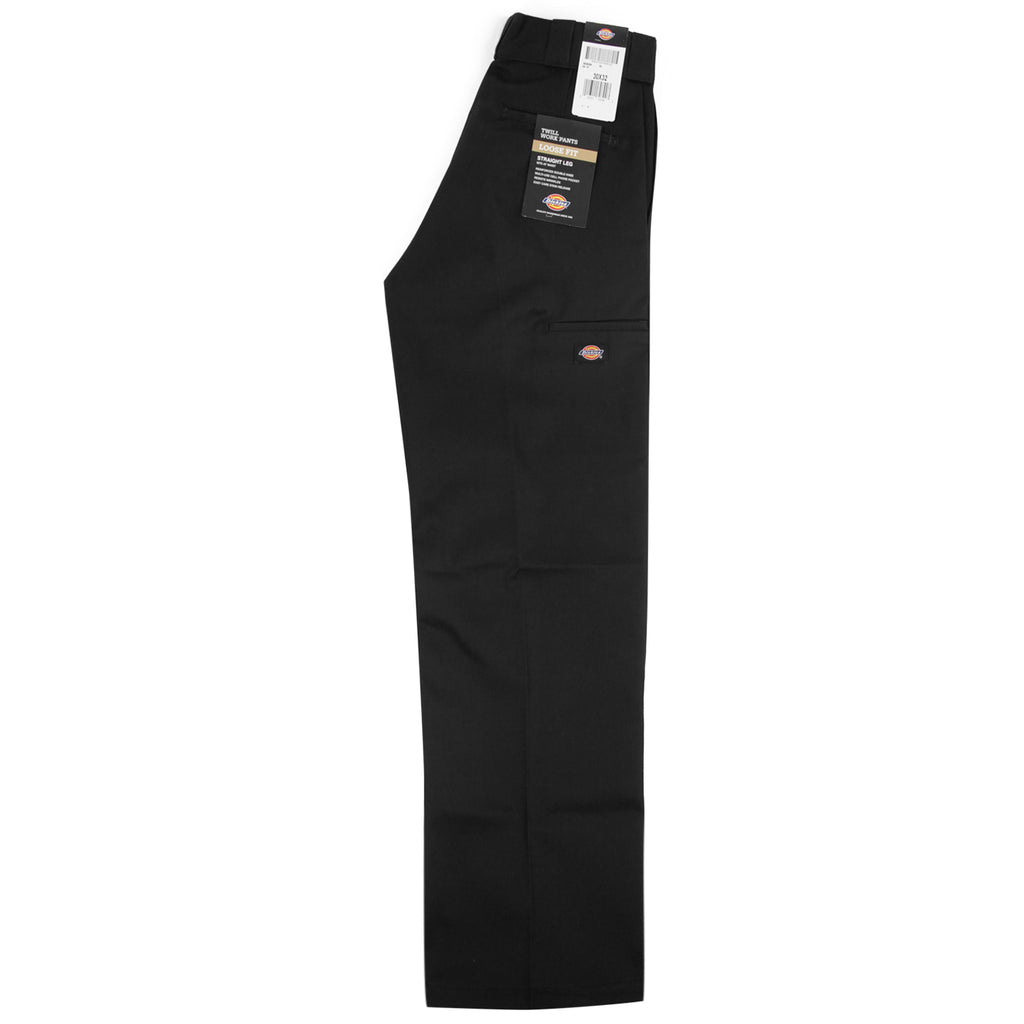 Dickies 283 Double Knee Work Pant in Black - Profile