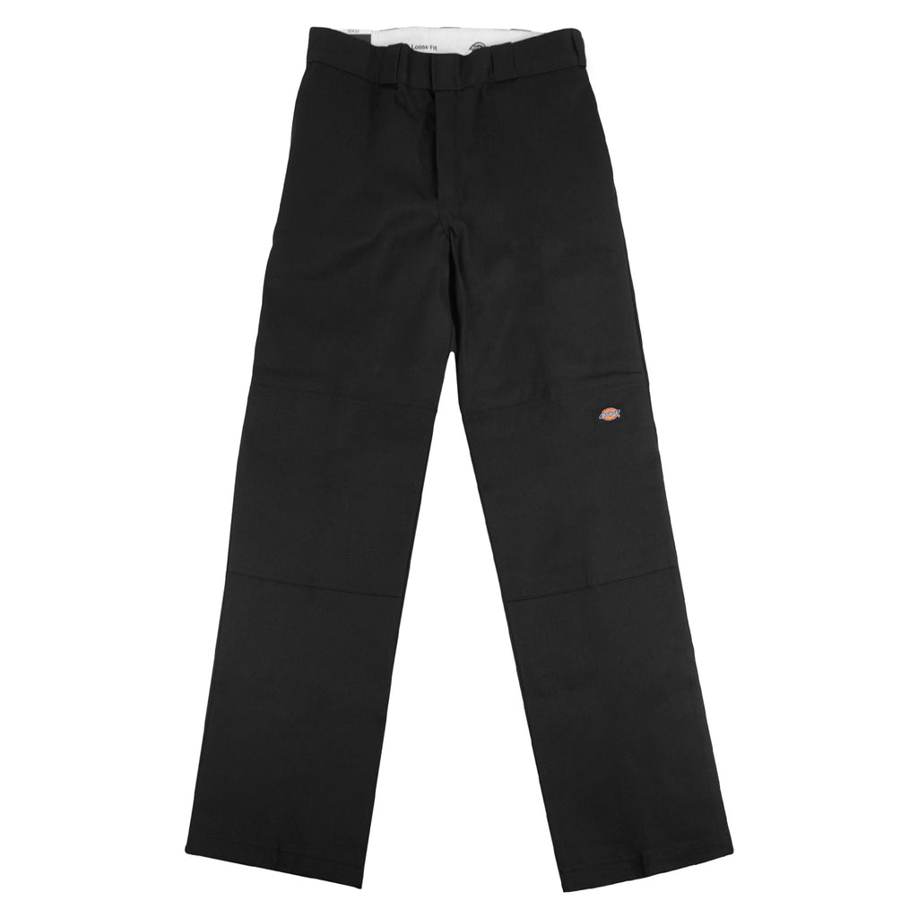 Dickies 283 Double Knee Work Pant in Black - Front