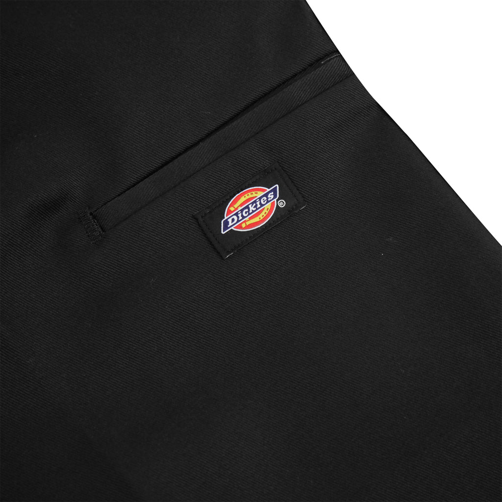 Dickies 283 Double Knee Work Pant in Black - Label
