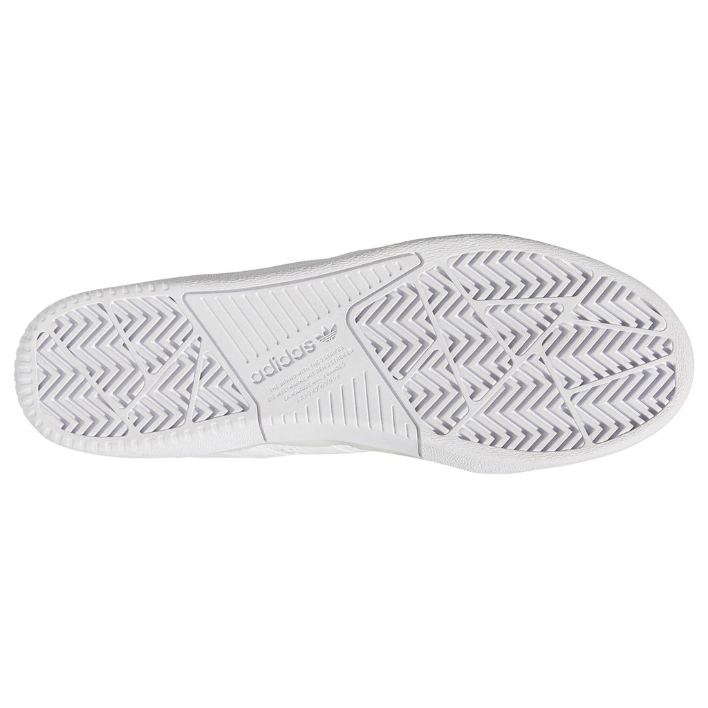 Adidas Skateboarding Tyshawn Shoes in Footwear White / Footwear White / Footwear White - Sole