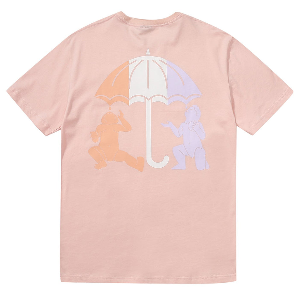 Helas UMB Twins T Shirt in Pastel Pink