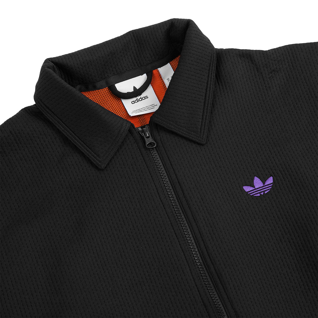 Adidas Skateboarding Utility Jacket in Black / Purple / Glow Amber - Detail