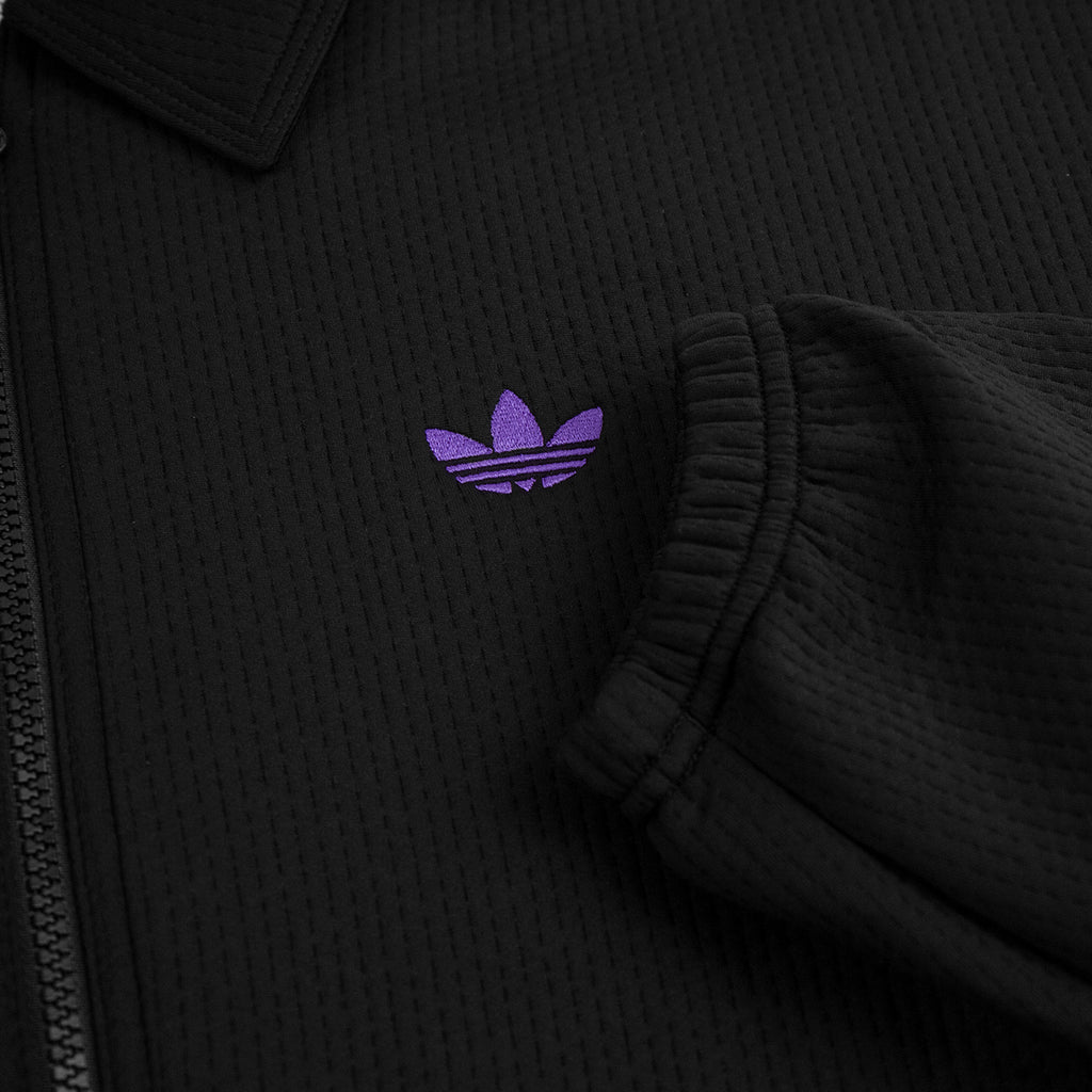 Adidas Skateboarding Utility Jacket in Black / Purple / Glow Amber - Embroidery