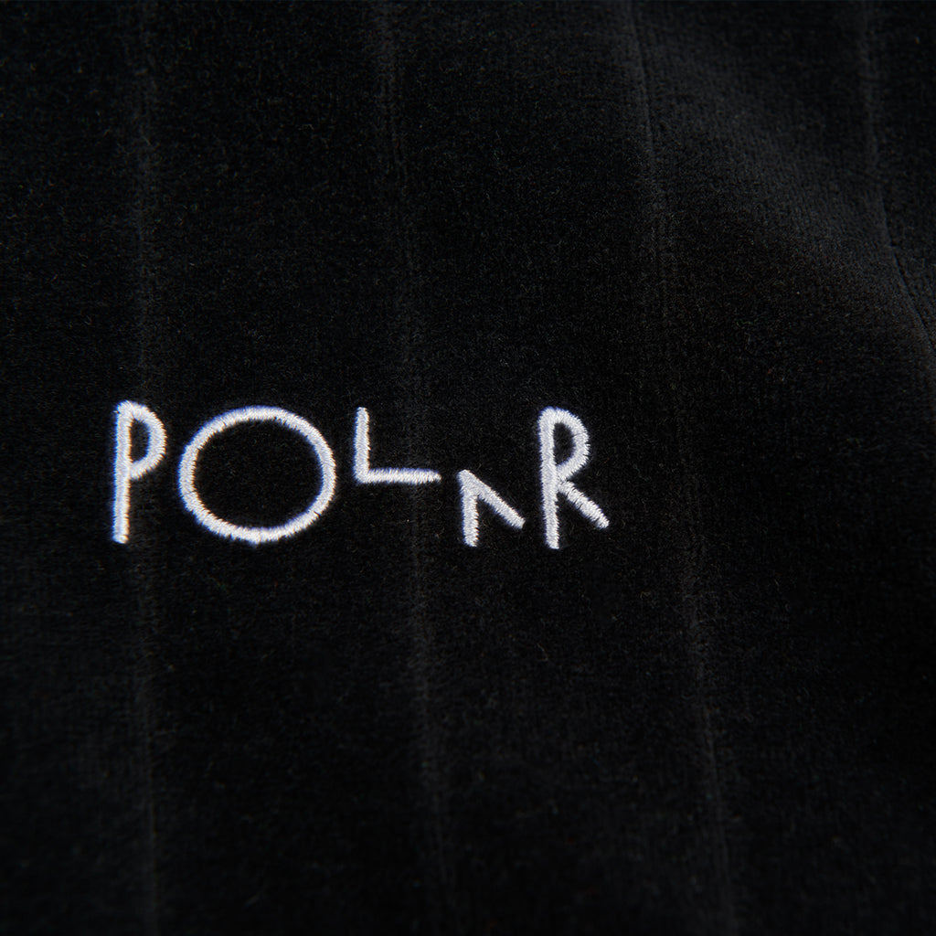 Polar Skate Co Velour Pullover in Black - Logo