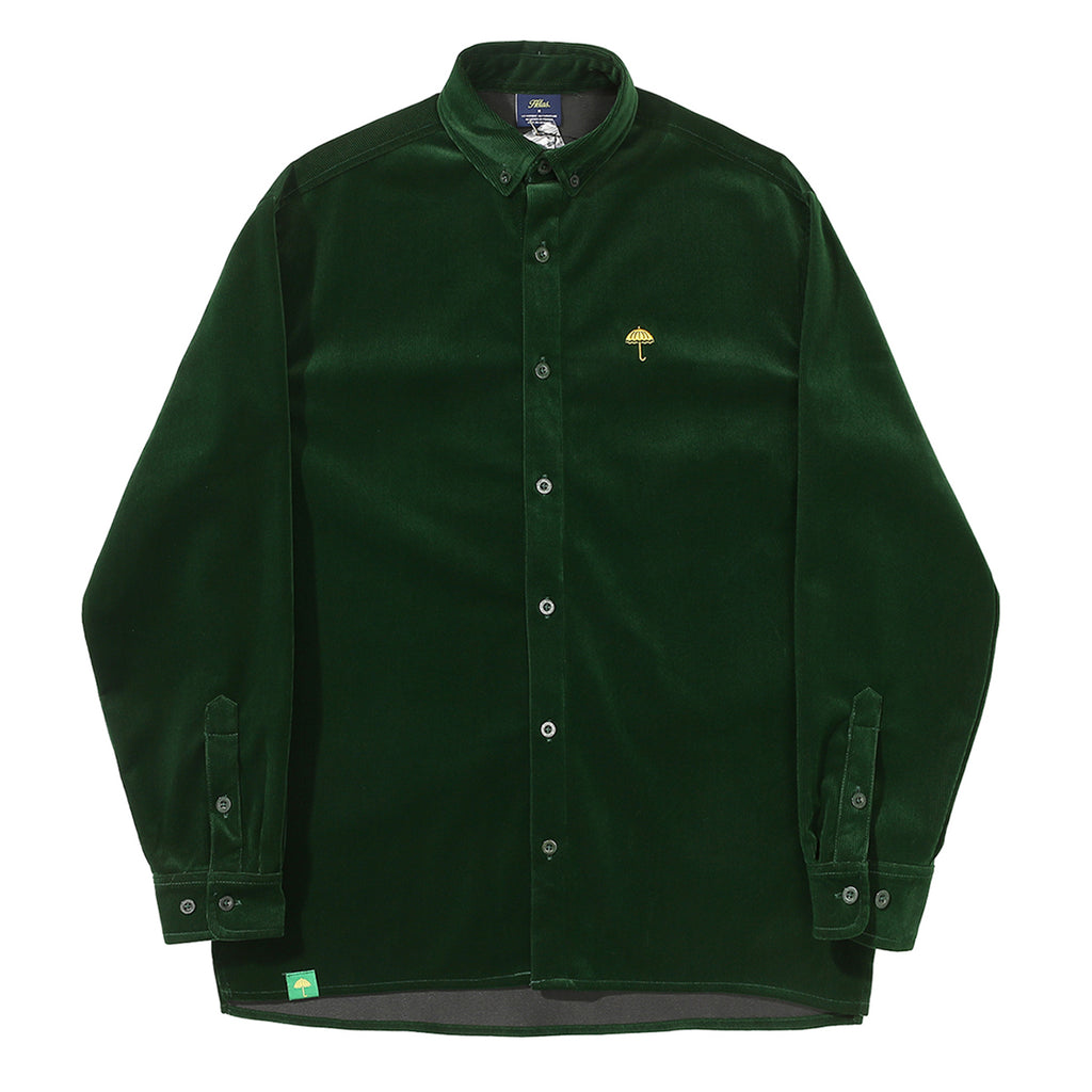 Helas L/S VŒUX Shirt in Green
