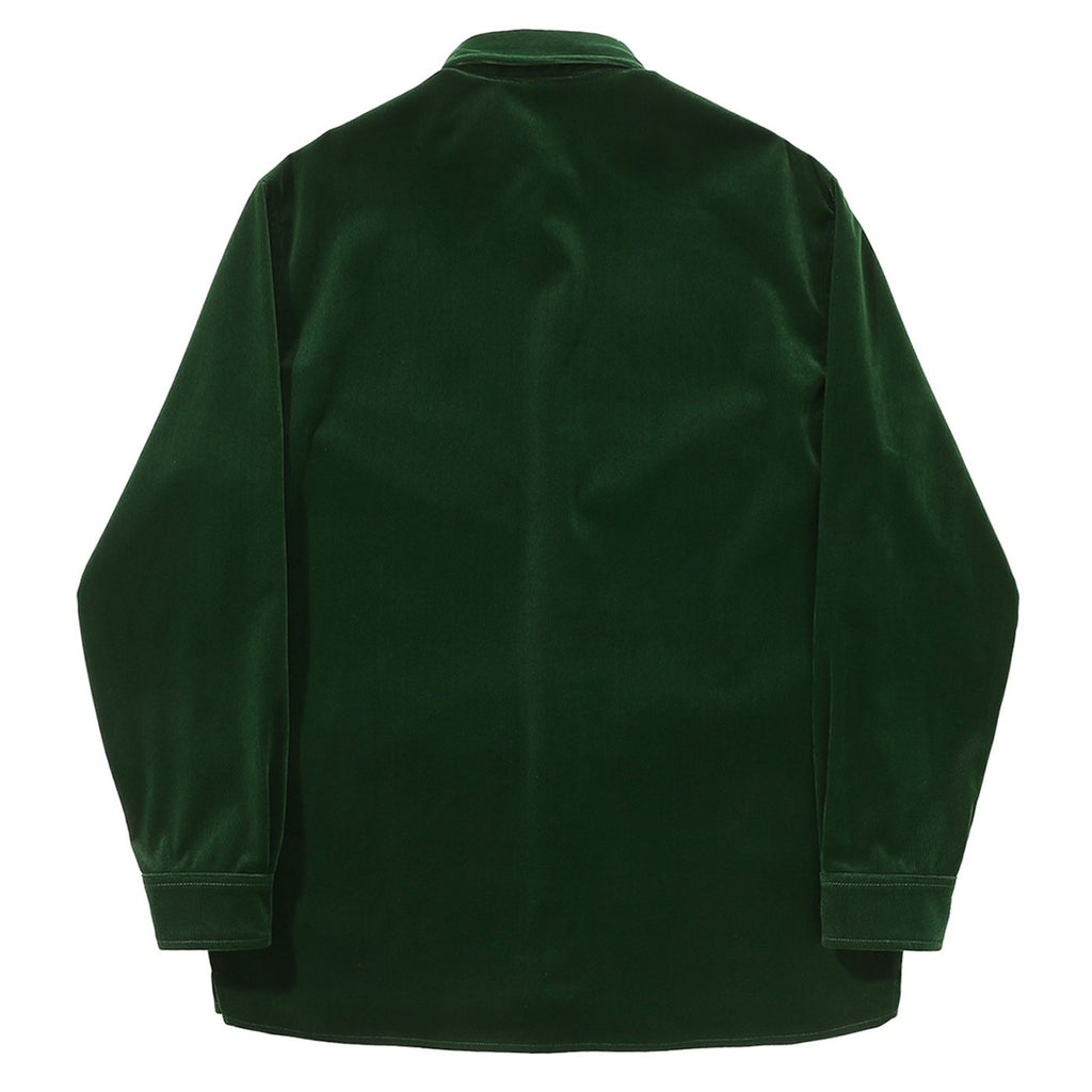 Helas L/S VŒUX Shirt in Green - Back