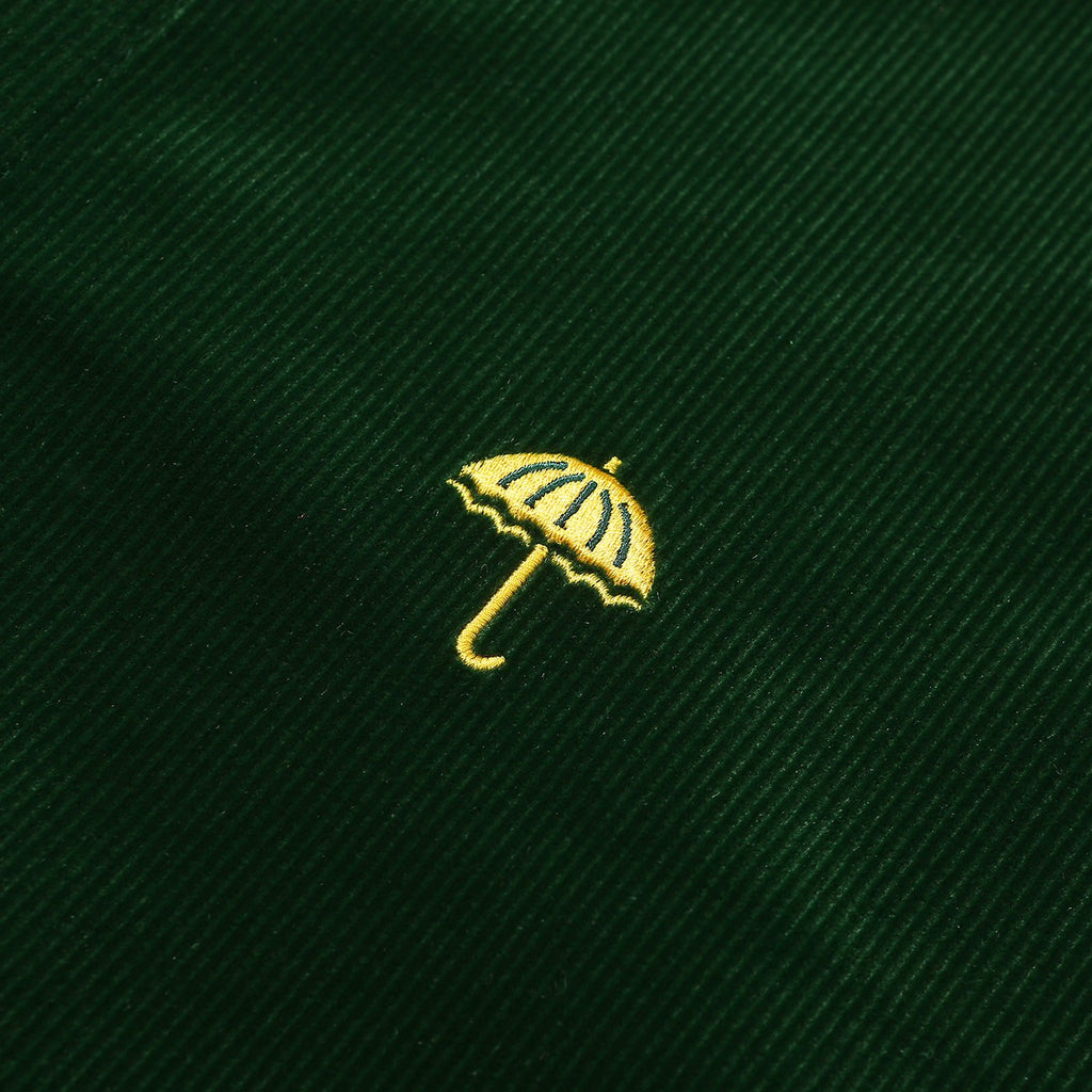 Helas L/S VŒUX Shirt in Green - Embroidery