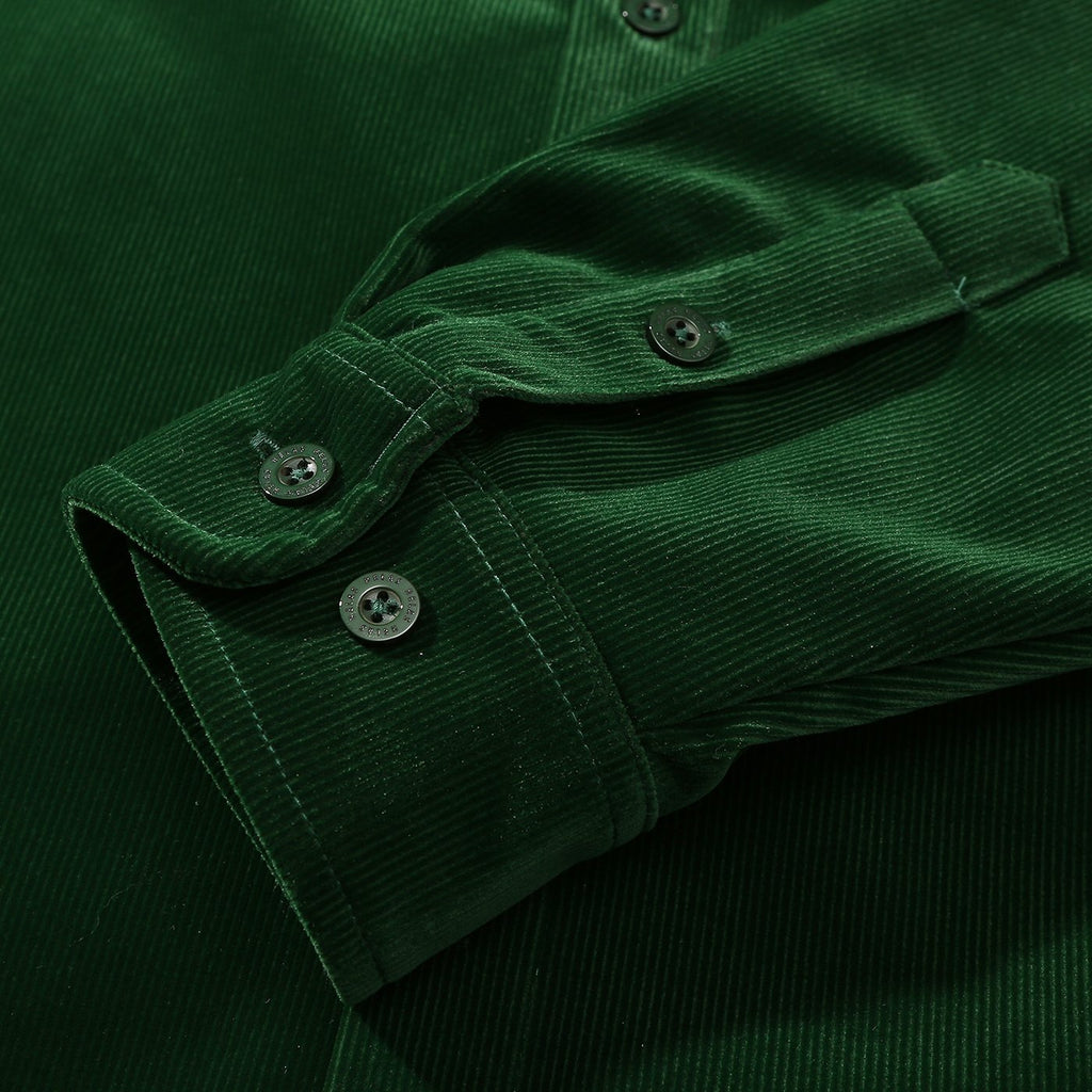 Helas L/S VŒUX Shirt in Green - Cuff