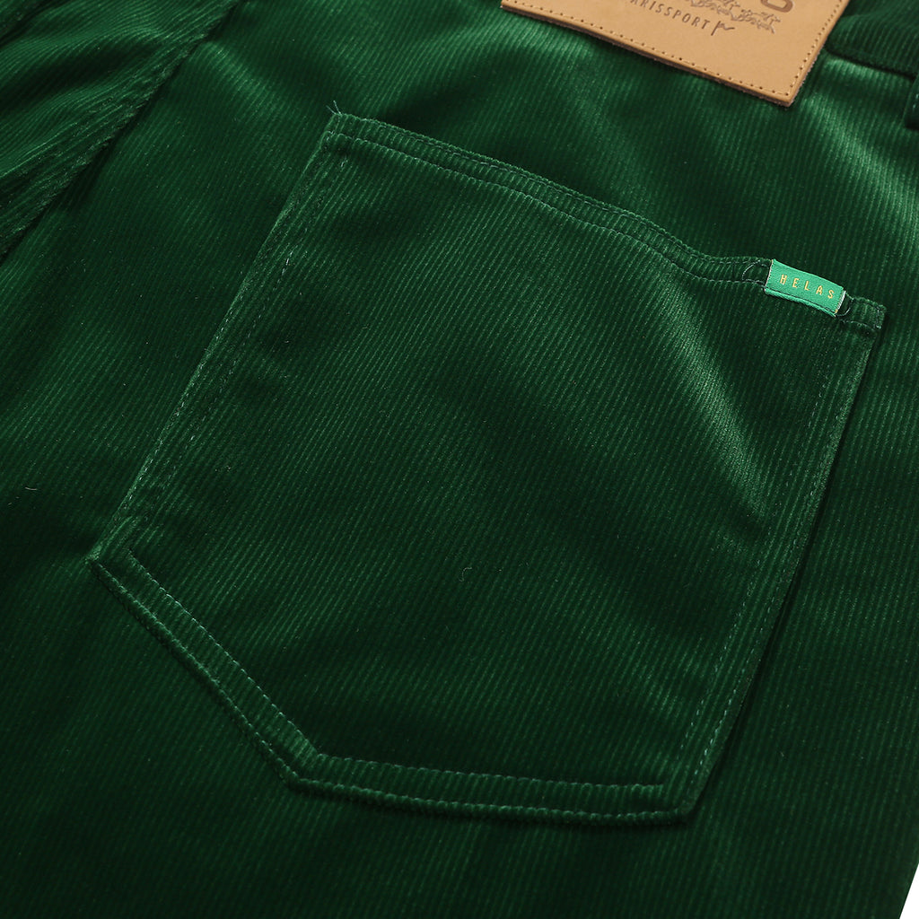 Helas VŒUX Pant in Green - Back Pocket