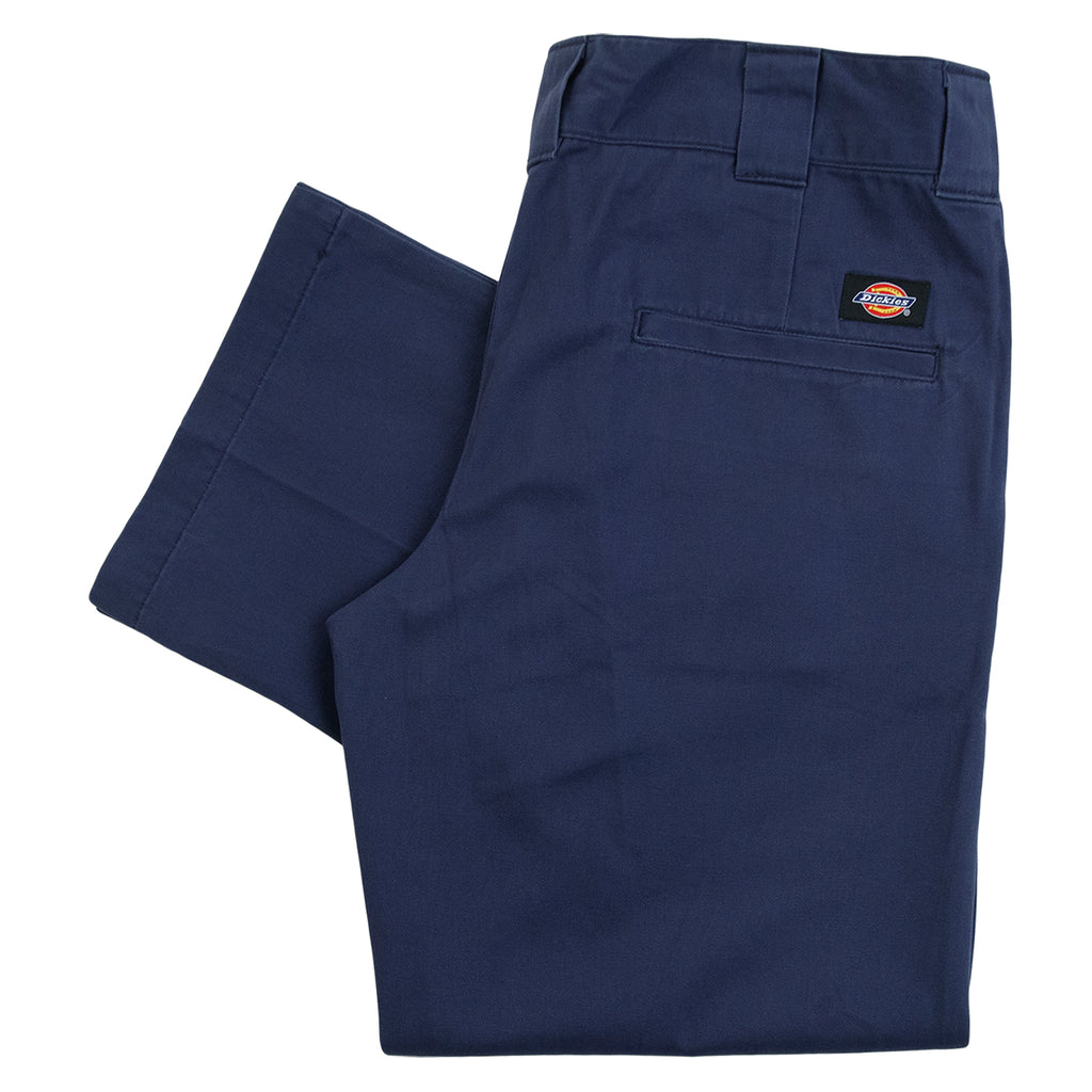 Dickies Slim Fit Vancleave Work Pant in Navy Blue