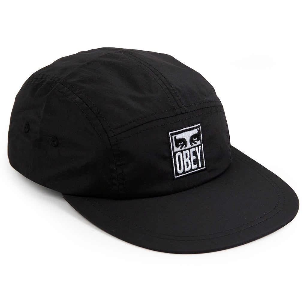 Obey Clothing Vanish 5 Panel Cap in Black