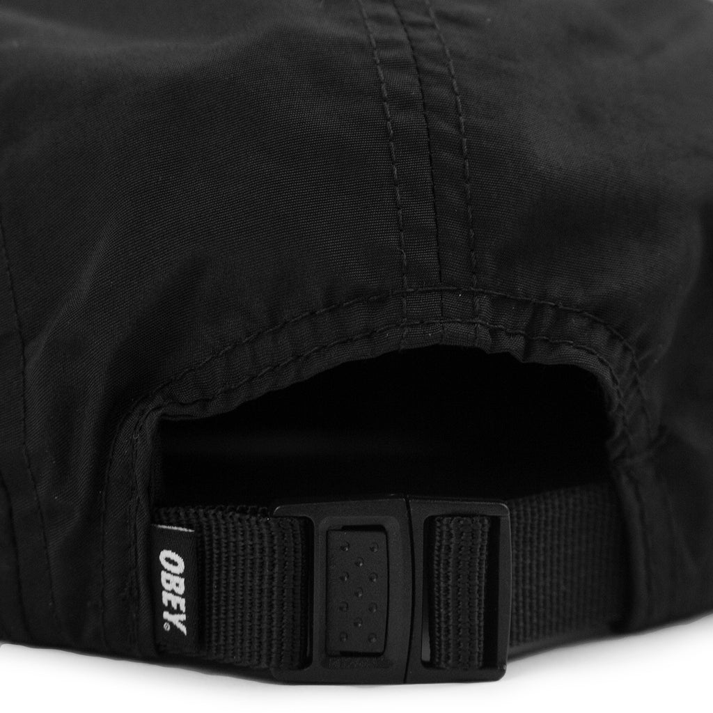 Obey Clothing Vanish 5 Panel Cap in Black - Webstrap