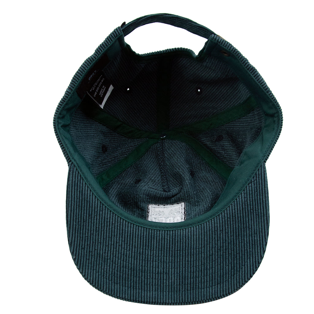 Obey Clothing Vanish Strapback Cap in Emerald - Inside