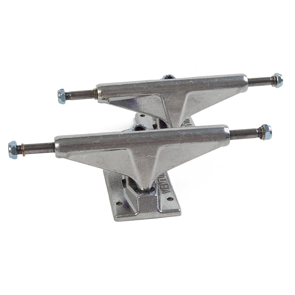 Venture Trucks 5.8 High Skateboard Trucks in All Polished