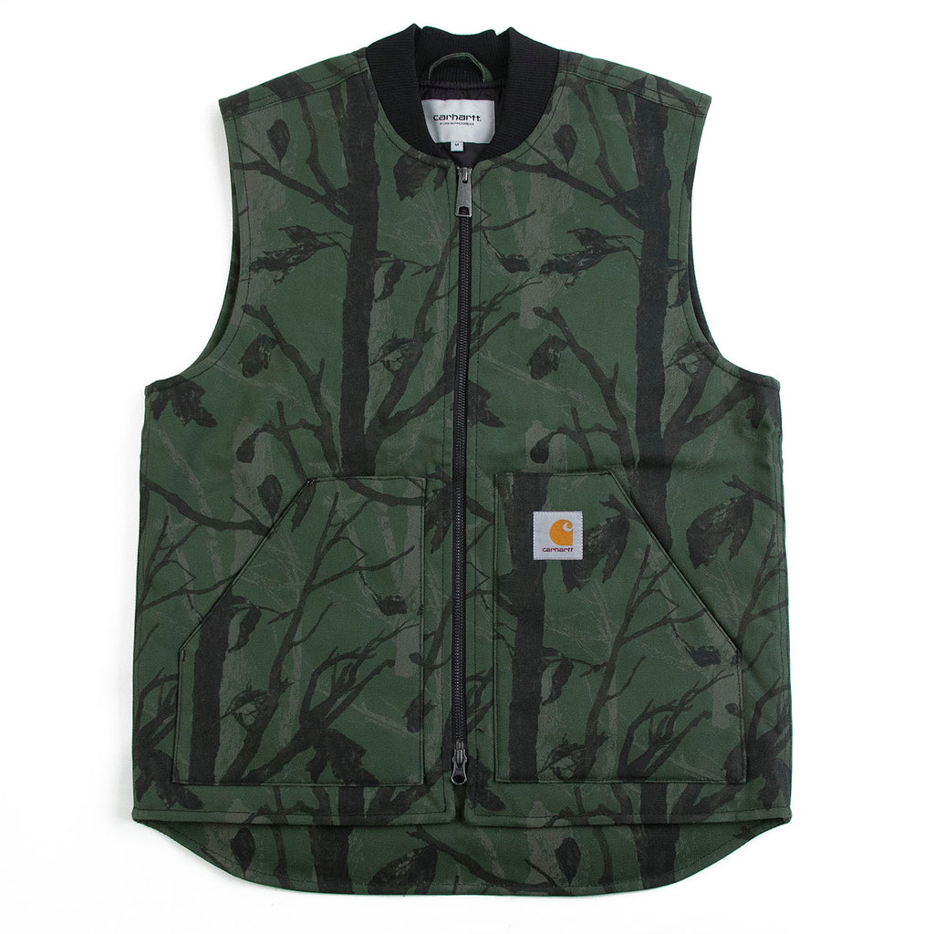 Carhartt WIP Vest in Camo Tree Green