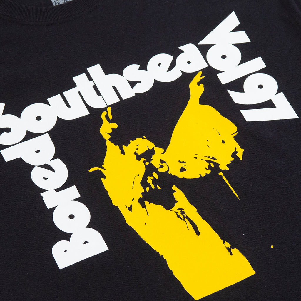 Bored of Southsea Vol 97 T Shirt - Black