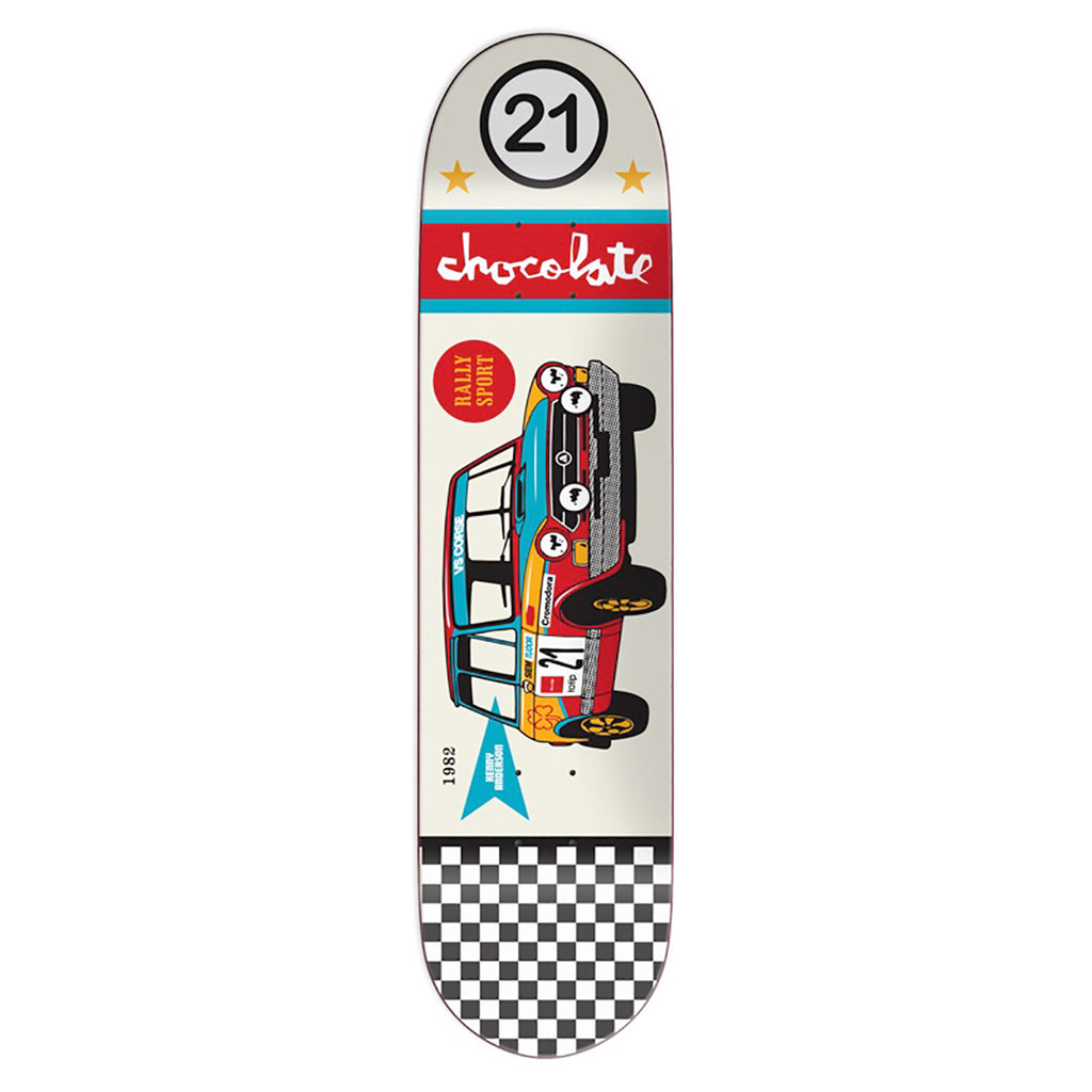 Chocolate Skateboards Crailtap Classic Rally Car Kenny Anderson Skateboard Deck in 8.125""