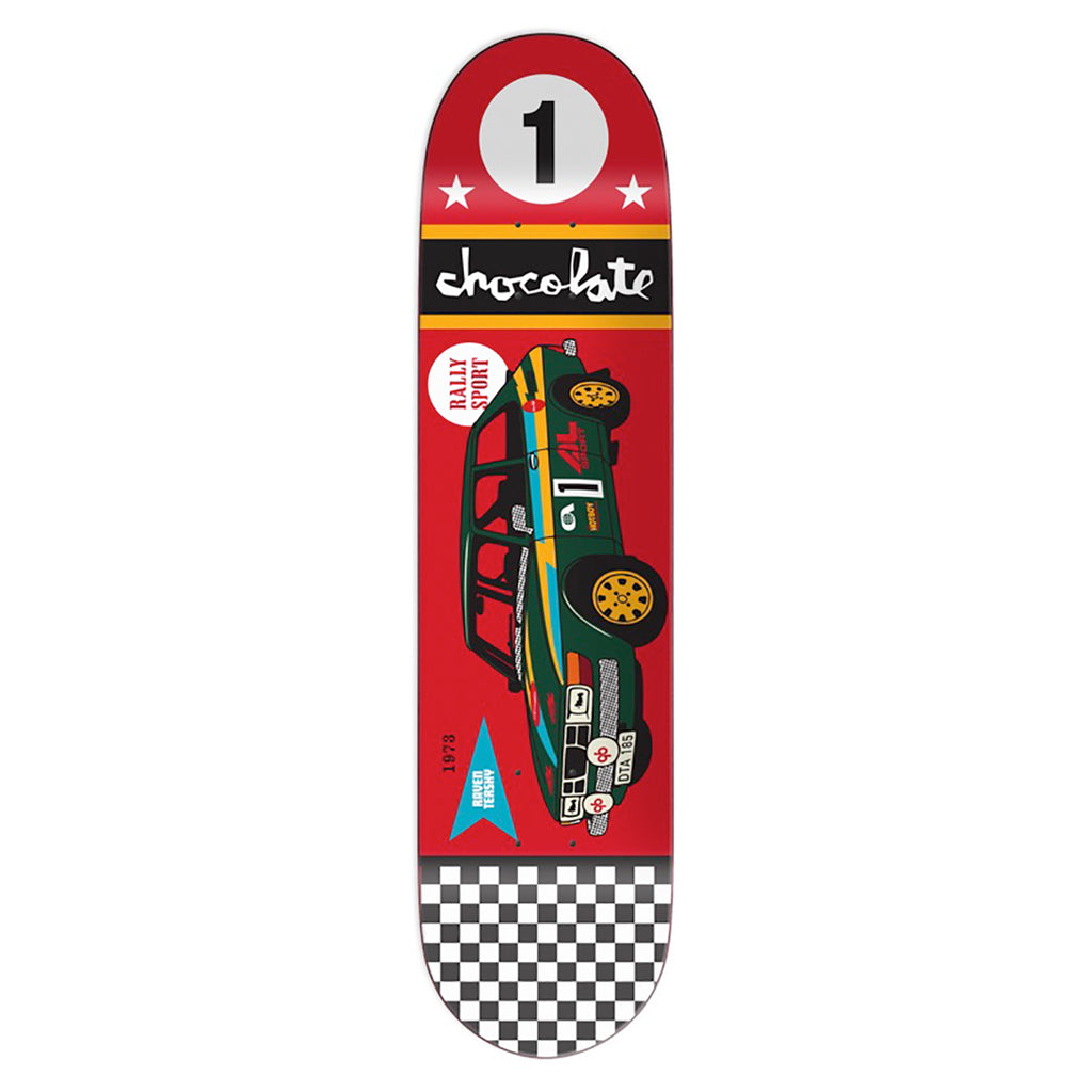 Chocolate Skateboards Crailtap Classic Rally Car Raven Tershy Skateboard Deck in 8.25""