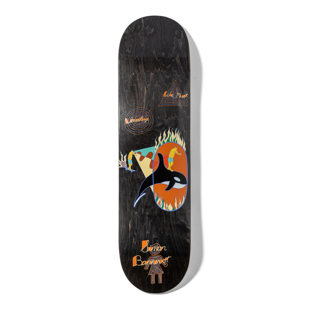 Girl Skateboards Simon Bannerot One Off Skateboard Deck in 8.25""