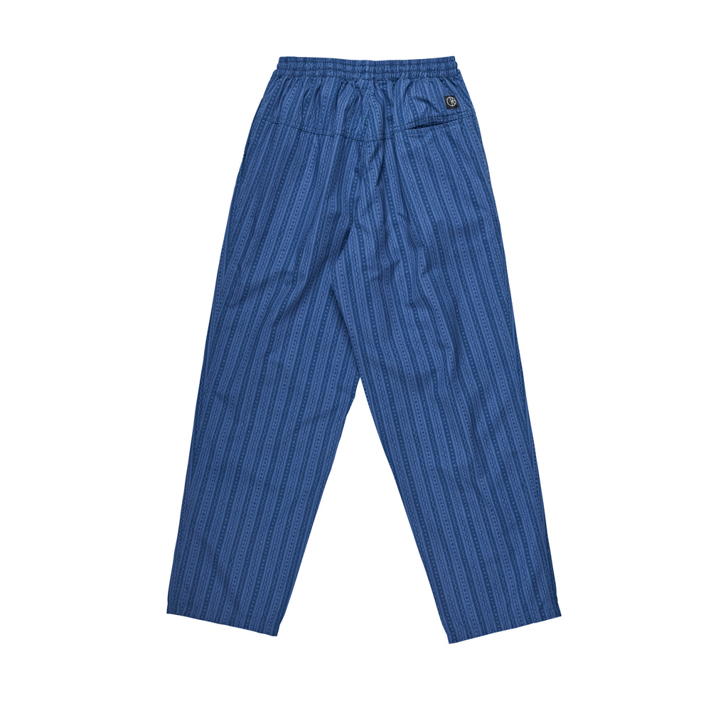 Polar Skate Co Wavy Surf Pants in Blue - Back