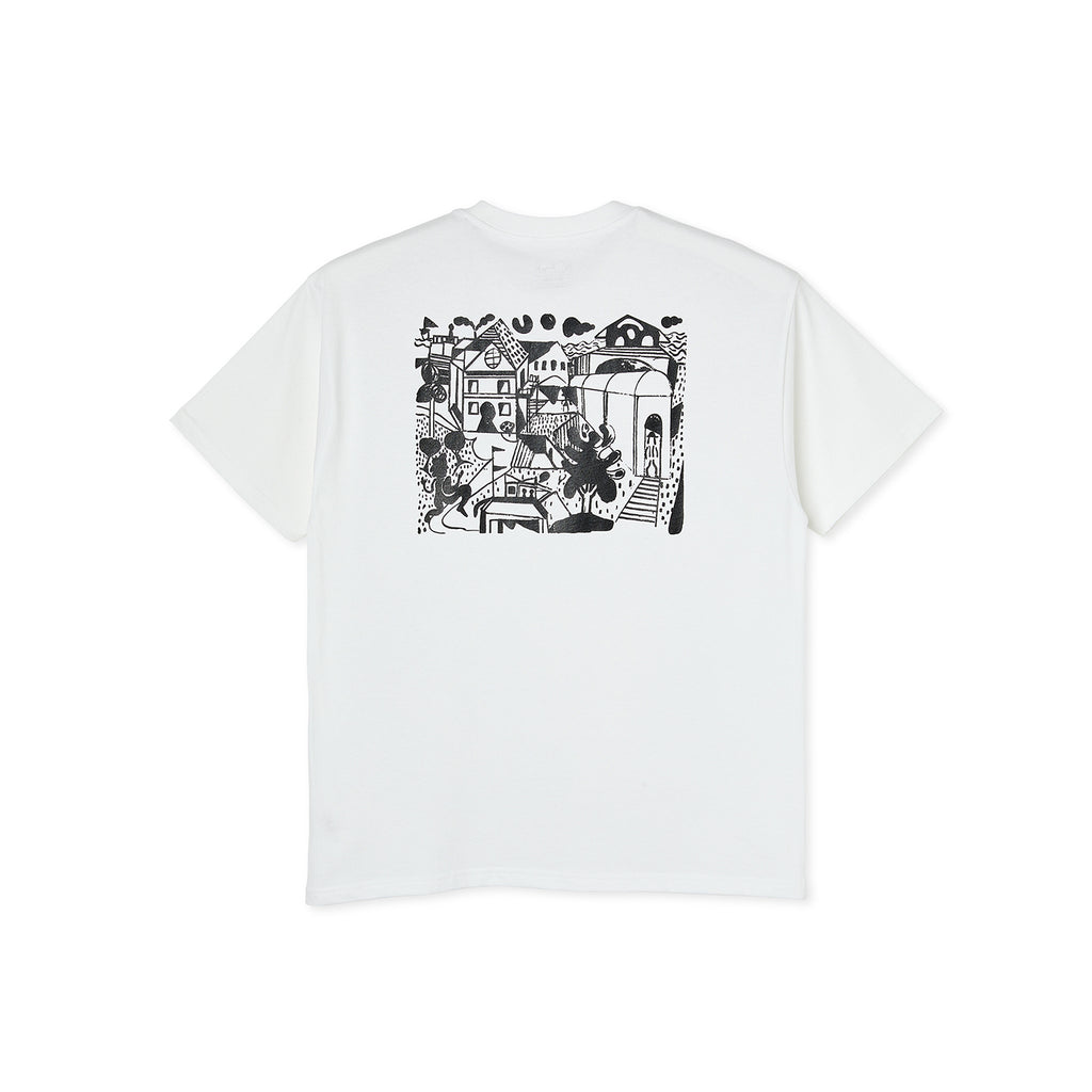Polar Skate Co Weight T Shirt in White