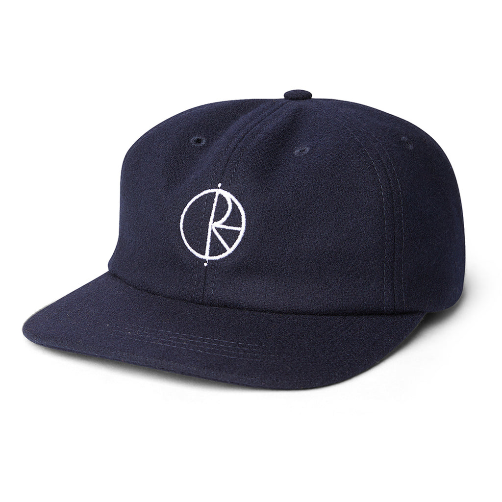 Polar Skate Co Wool Cap in Rich Navy