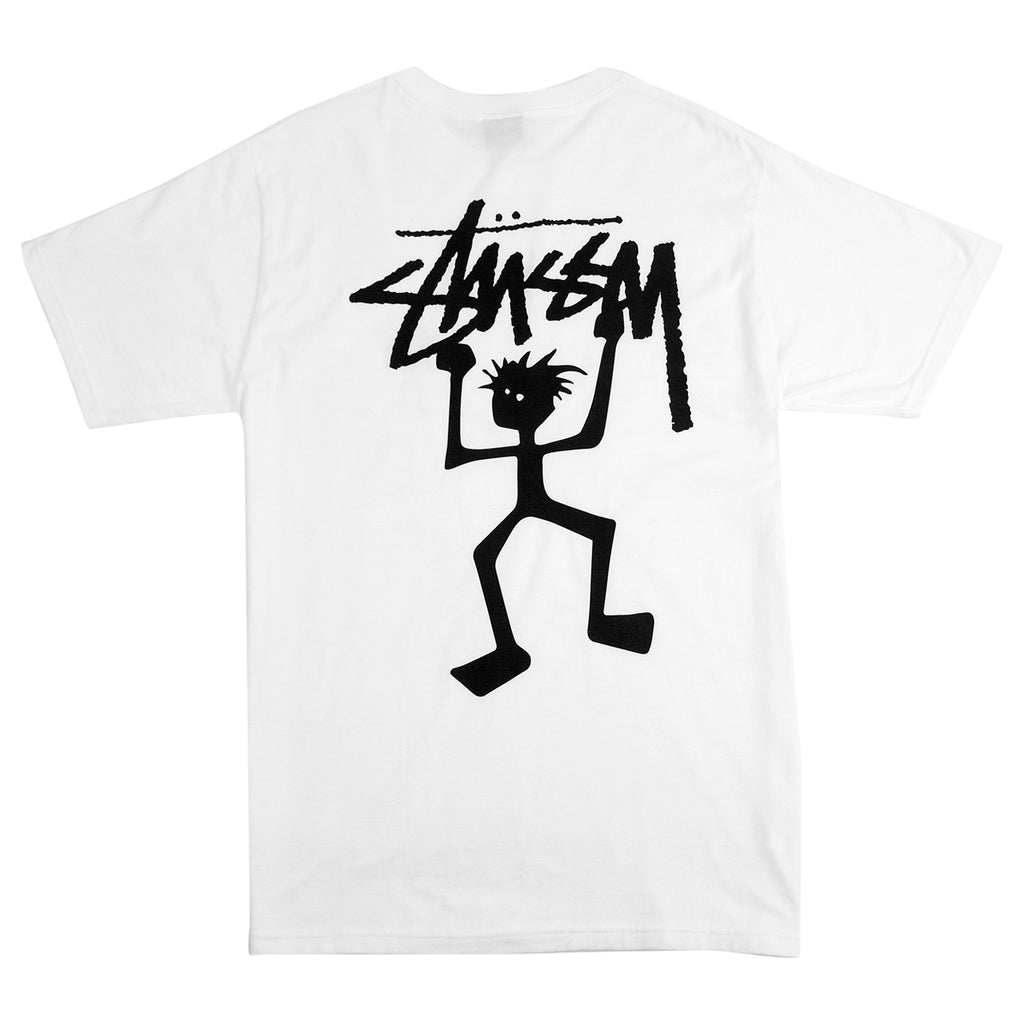Stussy Warrior Man T Shirt in White