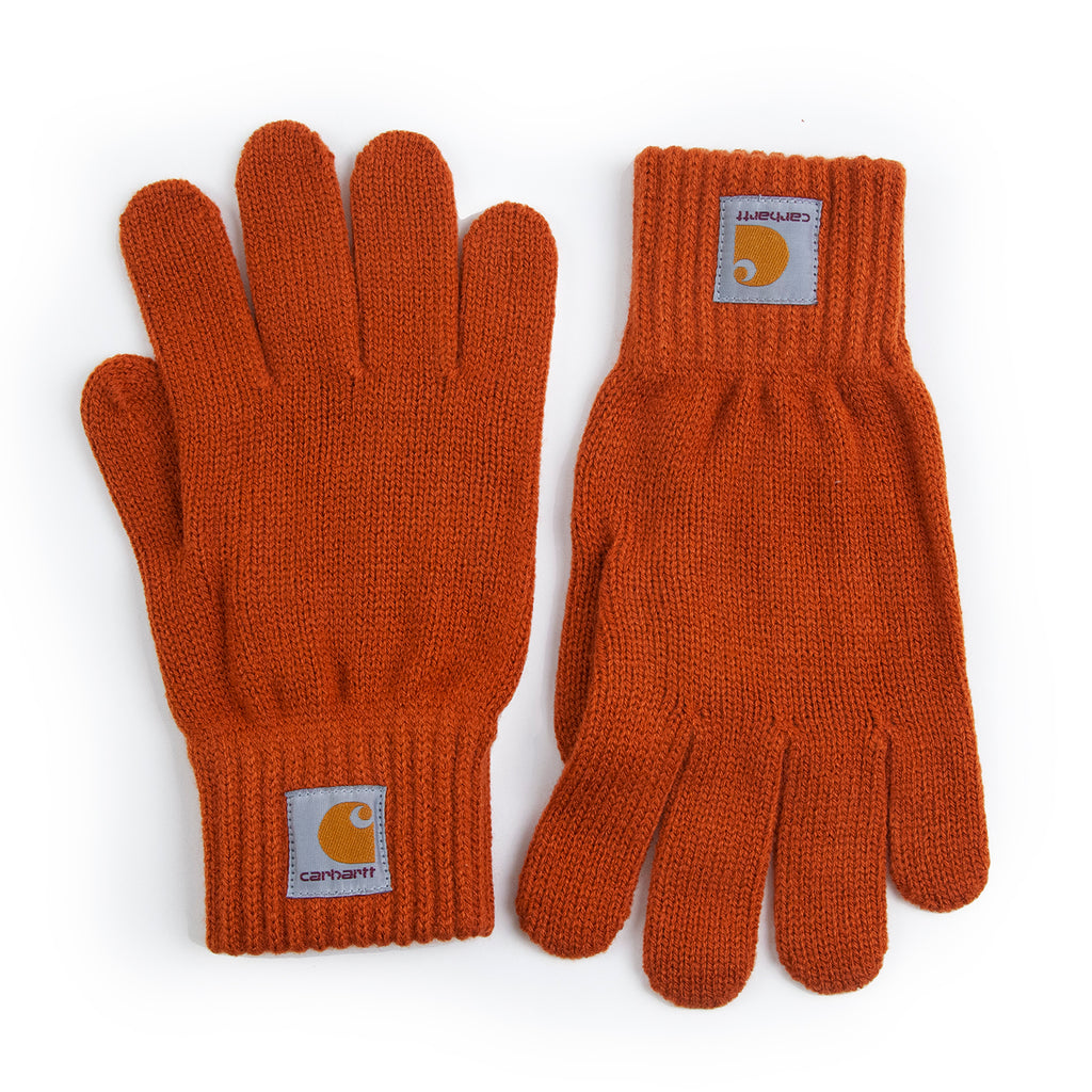 Carhartt WIP Watch Gloves in Cinnamon