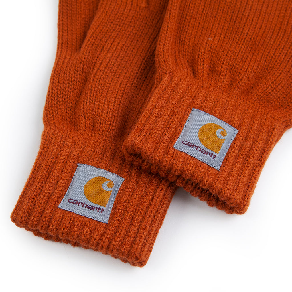 Carhartt WIP Watch Gloves in Cinnamon - Detail