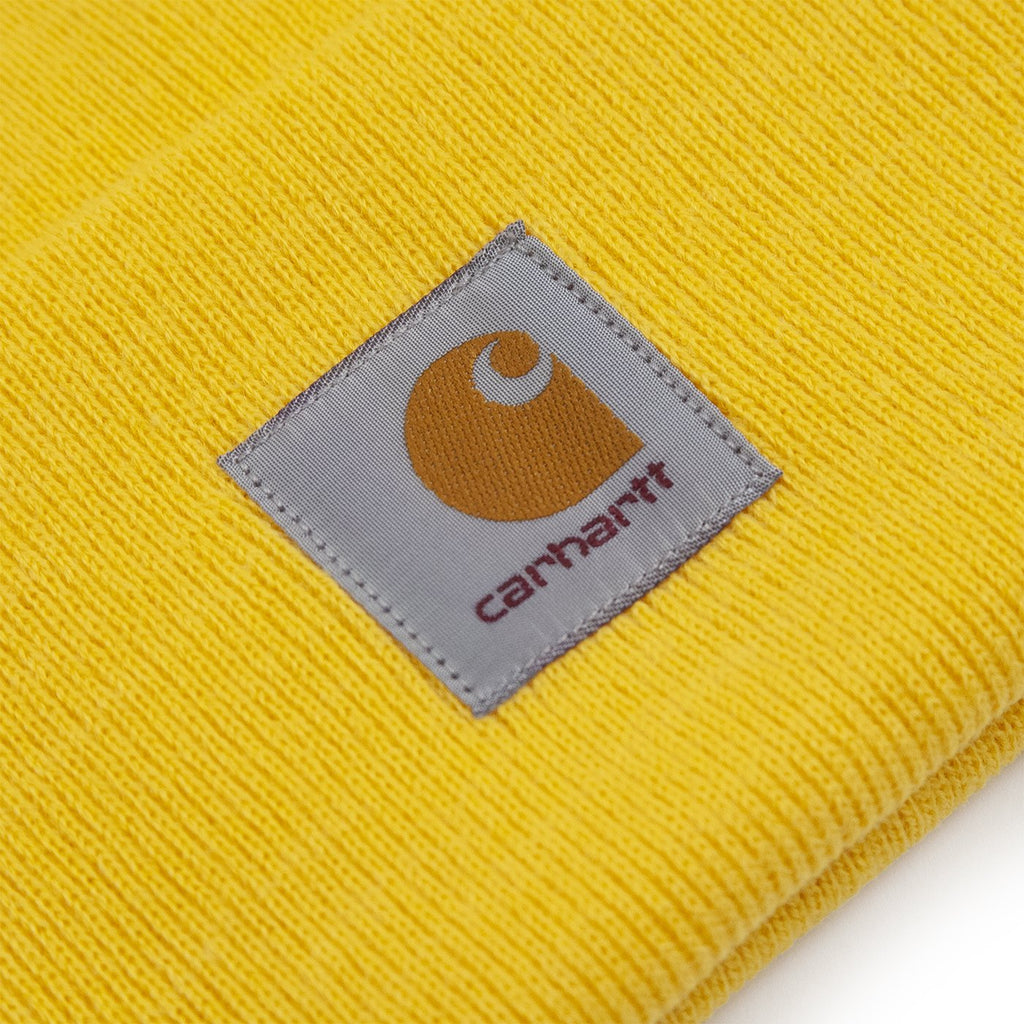 Carhartt WIP Watch Hat in Sunflower - Label