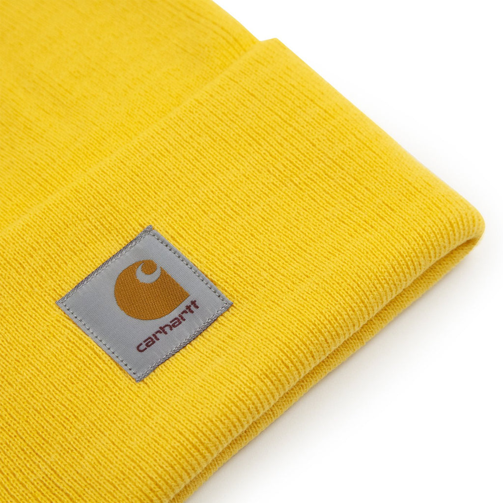 Carhartt WIP Watch Hat in Sunflower - Detail