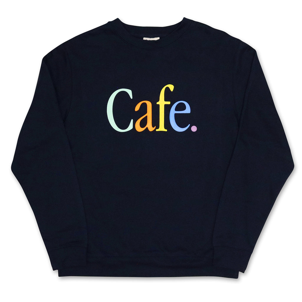 Skateboard Cafe Wayne Crewneck Sweatshirt in Navy