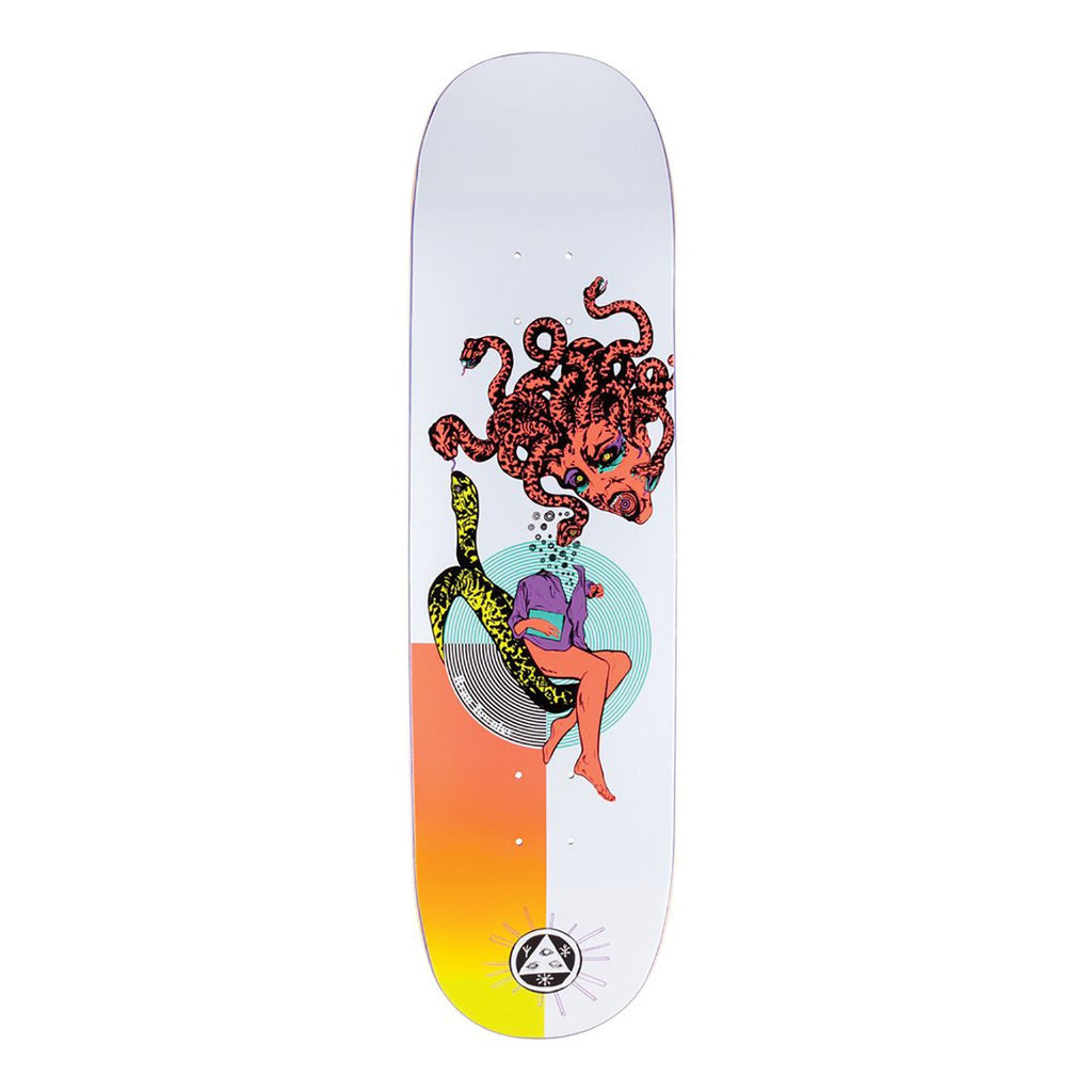 Welcome Skateboards Gorgon on Enenra Skateboard Deck in 8.5""