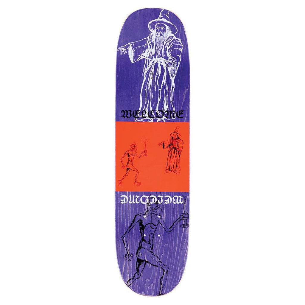 "Welcome Skateboards Gorgon on Enenra Skateboard Deck in 8.5"" - Top"