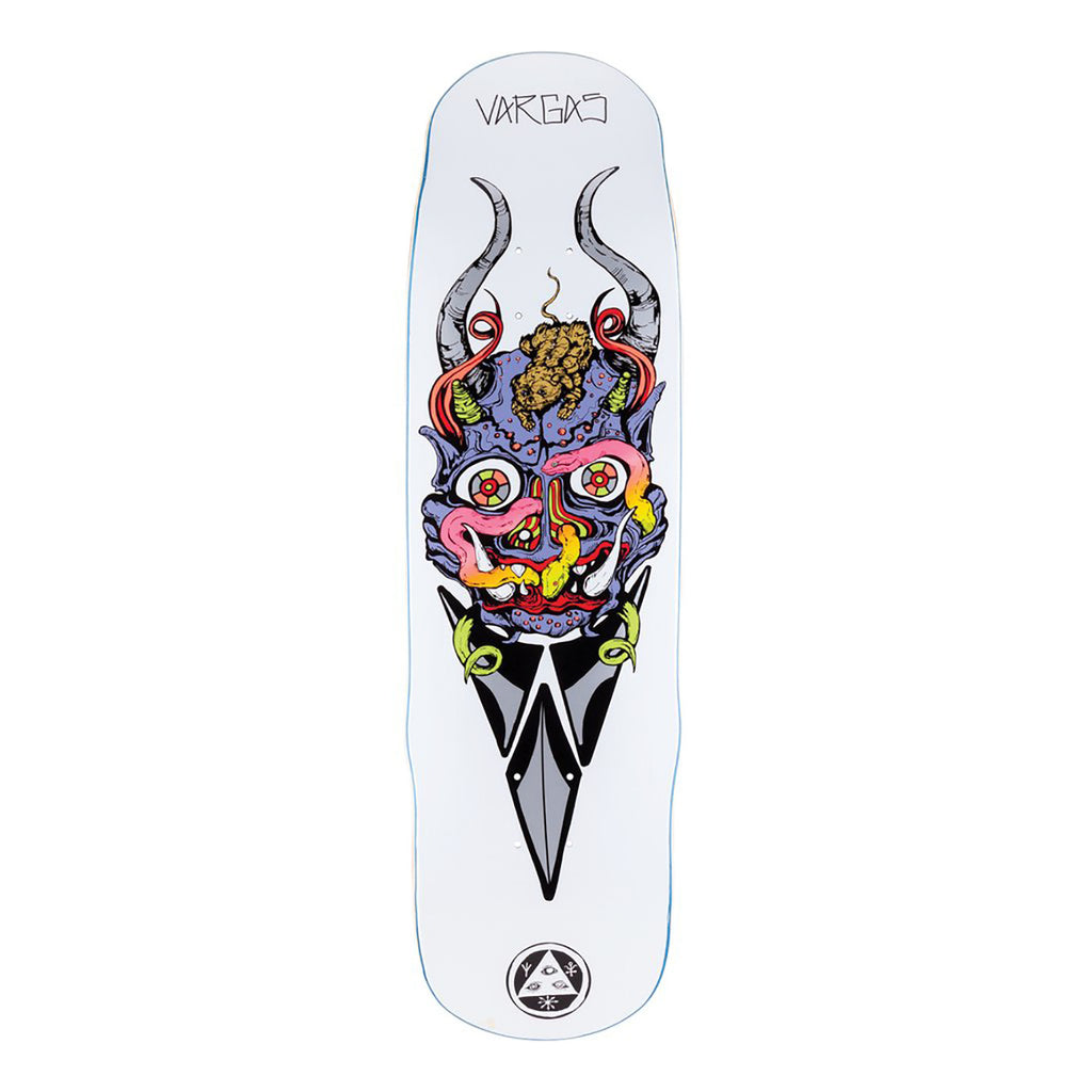 Welcome Skateboards Maligno on Effigy Skateboard Deck in 8.8""