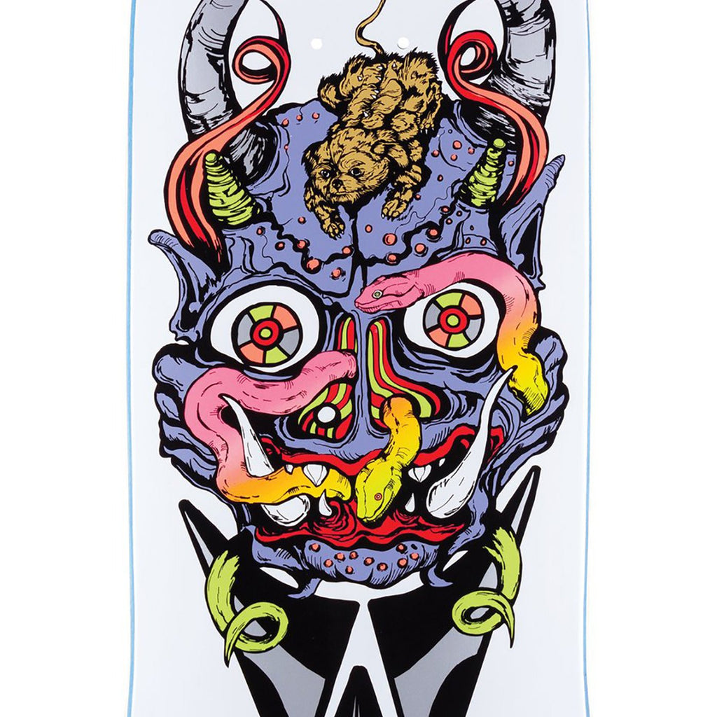 "Welcome Skateboards Maligno on Effigy Skateboard Deck in 8.8"" - Print"