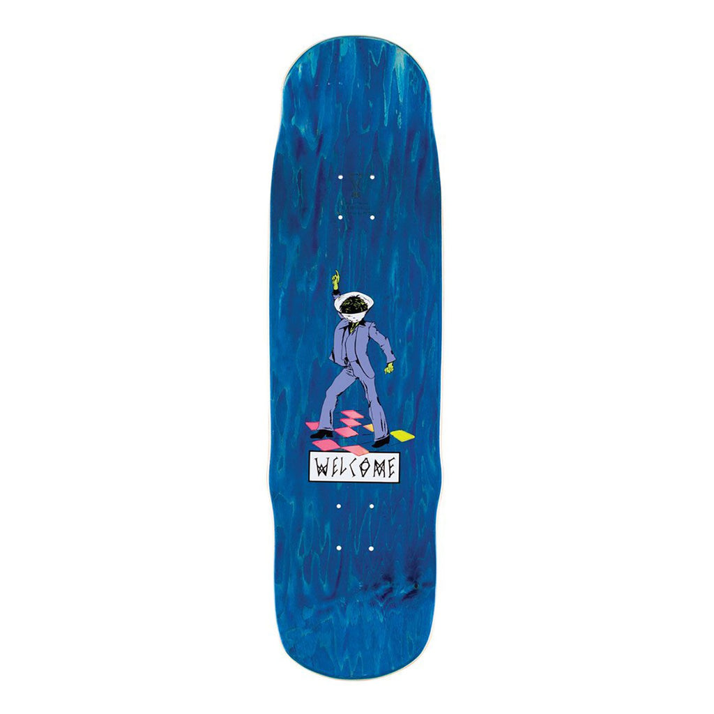 "Welcome Skateboards Maligno on Effigy Skateboard Deck in 8.8"" - Top"