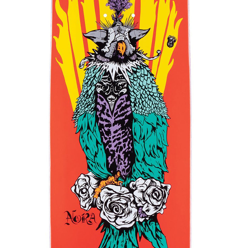 "Welcome Skateboards Peregrine on Wicked Princess Coral Skateboard Deck in 8.125"" - Print"