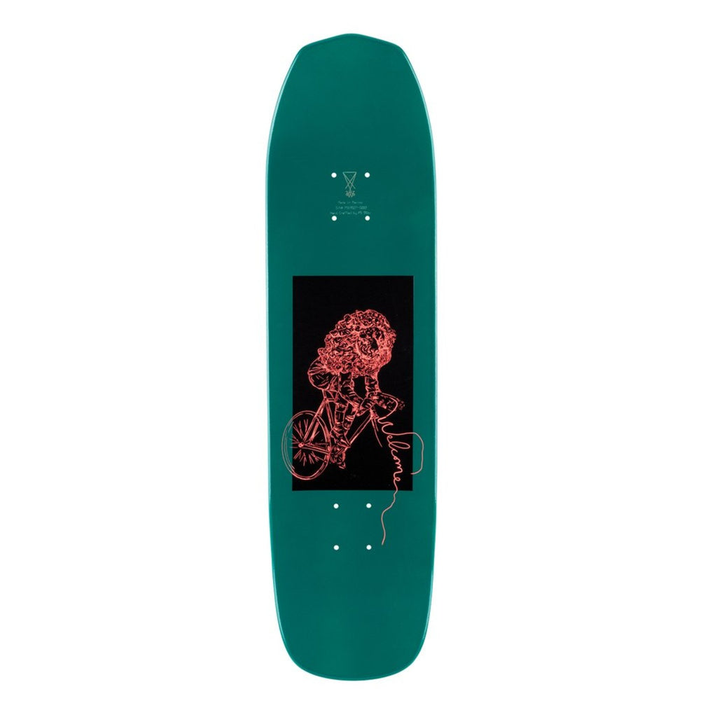 "Welcome Skateboards Squizard On Vimana Skateboard Deck in 8.25"" - Top"