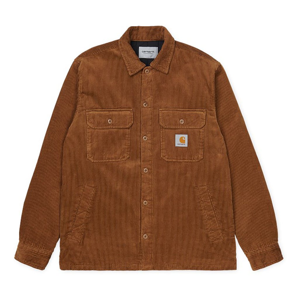 Carhartt WIP Whitsome Shirt Jacket in Hamilton Brown