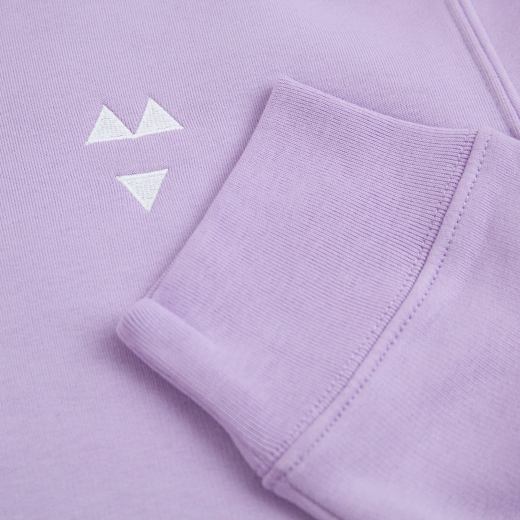 Wooden Wife Skateboards Logo Sweatshirt in Lilac - Logo