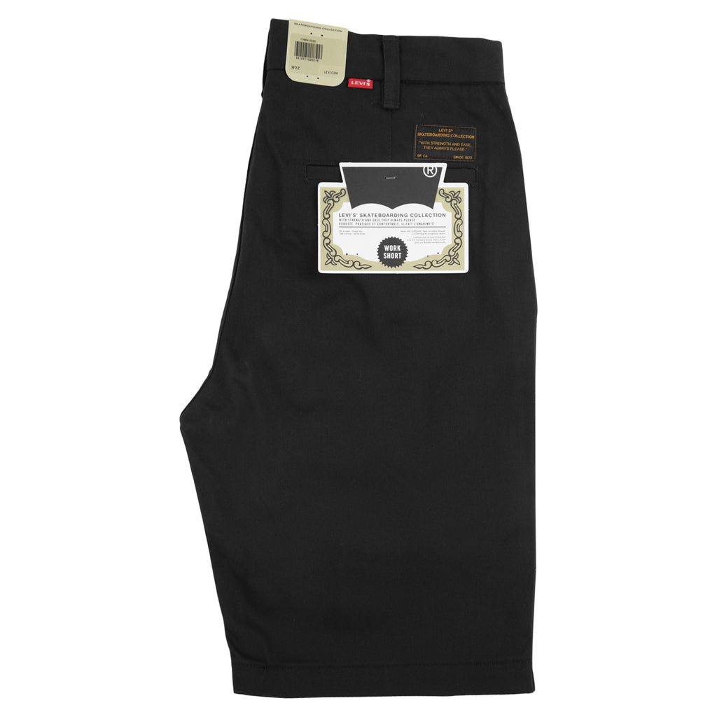 Levis Skateboarding Skate Work Shorts in Black