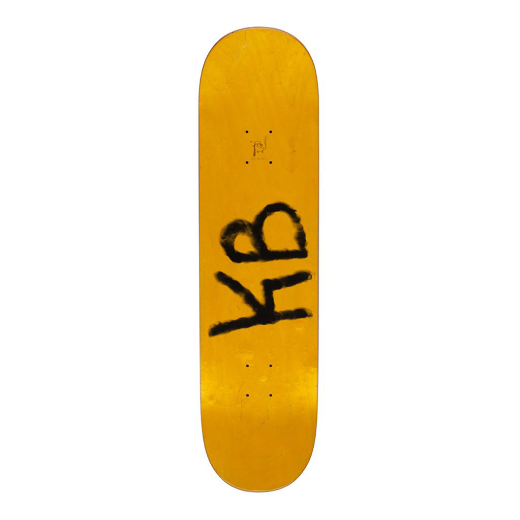 "Fucking Awesome World Fucking KB Skateboard Deck in 8.25"" - Top"